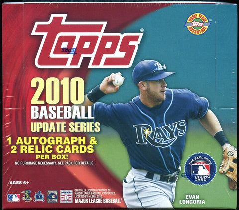 2010 Topps Update Series Jumbo HTA Box