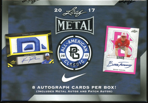 2017 Leaf Metal All-American Perfect Game Classic Baseball