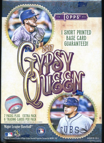 2017 Topps Gypsy Queen Blaster Baseball Box
