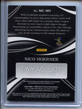 2020 Panini Immaculate Collection Monochrome MC-NH Nico Hoerner RC Auto #02/25 Chicago Cubs (SELLER: JL)