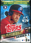 2016 Topps Series 1 Baseball Blaster Box