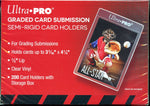 Ultra Pro Semi-Rigid Tall Card Holders for Grading 200CT
