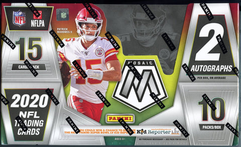 2020 Panini Mosaic Football Hobby Box