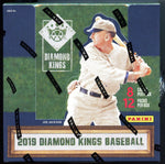 2019 Panini Donruss Diamond Kings Hobby Box Baseball