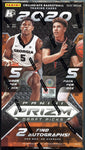 2020/21 Panini Prizm Draft Picks Fast Break Collegiate Basketball Box