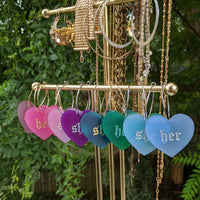 She/Her Pronoun Hoops - Colors