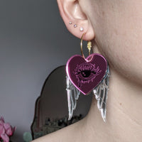 Crybaby Valentines Hoops