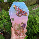Pastel Garden Coffin Tray