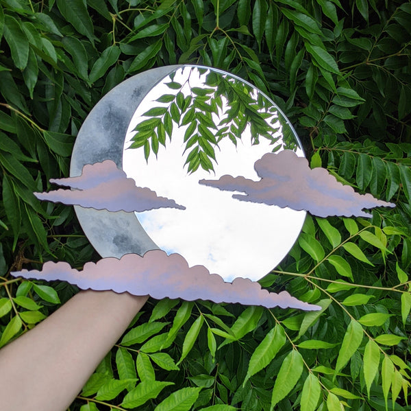 Pastel Cloud Mirror