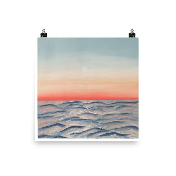 Red Sunset Print