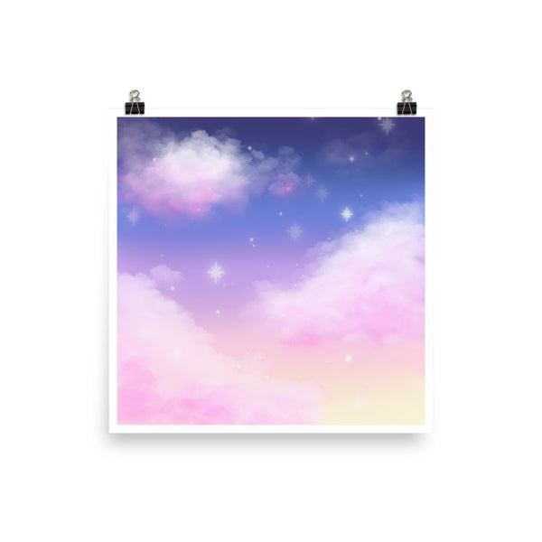 Cloudy Night Print