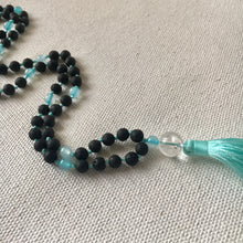 Express Myself Mala (Light blue, Aquamarine)