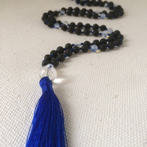 Divine Feminine Moonstone Mala for Meditation