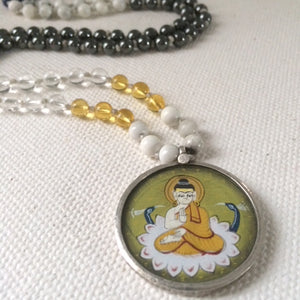Buddha - Mala Necklace