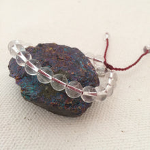 Chakra Light Clear Quartz Bracelet (large)