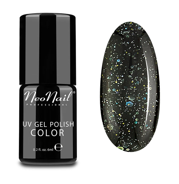 UV GEL POLISH 6 ML - BLACK CONFETTI