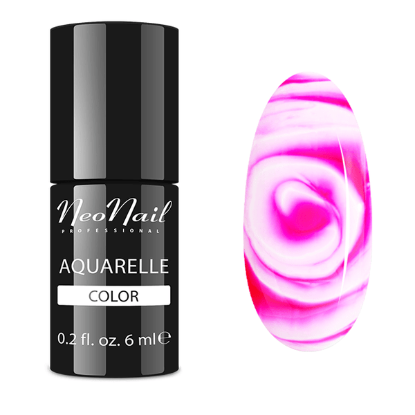UV Gel Polish 6 ml - Raspberry Aquarelle