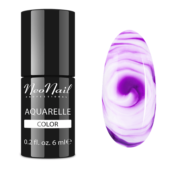 UV Gel Polish 6 ml - Purple Aquarelle