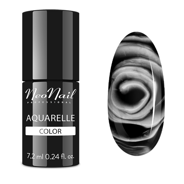 UV Gel Polish 6 ml - Black Aquarelle