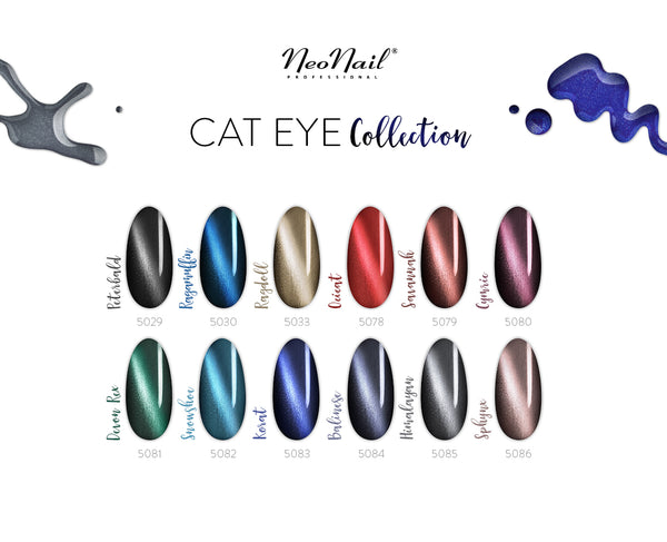 UV Gel Polish Magnetic Cat Eye 6 ml - Himalayan