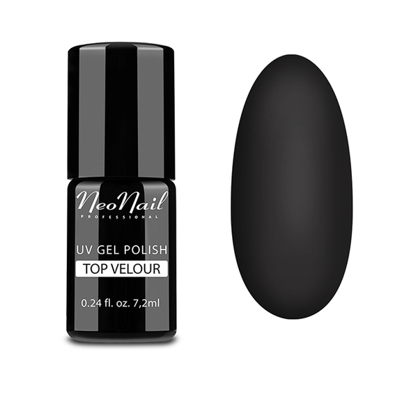 UV Gel Polish 7,2 ml - TOP VELOUR