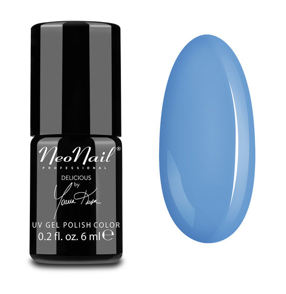 UV Gel Polish 6 ml - Blue Cream Jelly