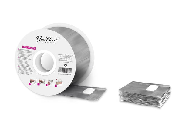 NAIL FOIL WRAPS IN ROLL - 250 PCS.