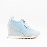 WAVECREST WEDGE SNEAKERS SKY BLUE
