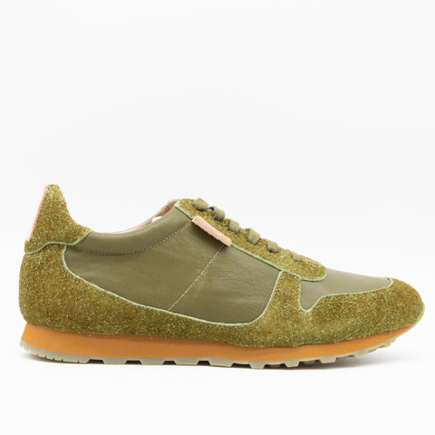 MENS SUNSET SNEAKER OLIVE