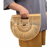 Wooden Beach Handbag - Dodo Deer®