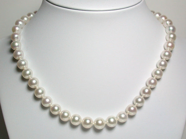 Made-to-Measure AAA quality white freshwater pearl necklaces
