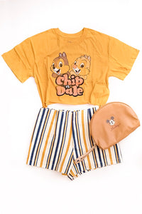 Chip and Dale - Disney Style Outfit