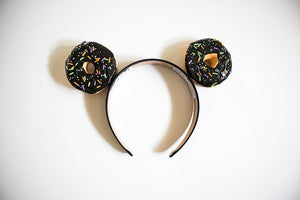 Halloween Donut Ears - Black