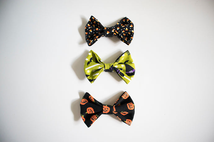 Halloween Bow Pack - Sweet Treats