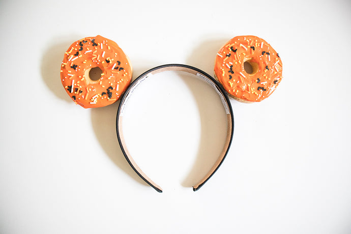 Halloween Donut Ears - Orange
