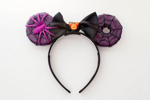 RTS - Halloween Purple Web Donuts - Large Size