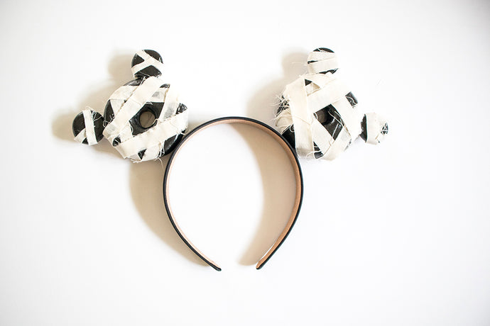 RTS Halloween Donut Ears - Mummy Mickey