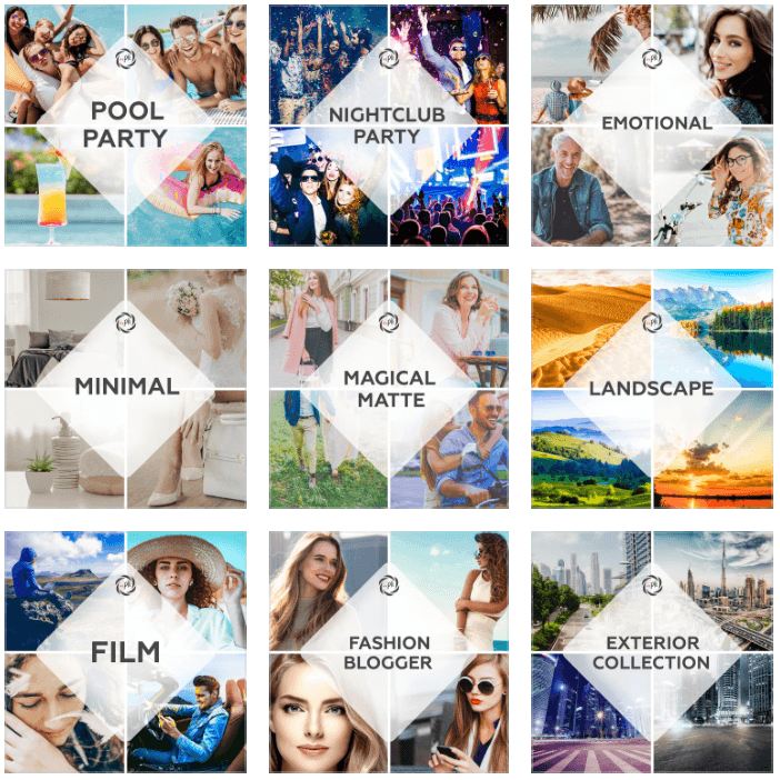+1080 Photography filters - The Ultimate All Presets Collection