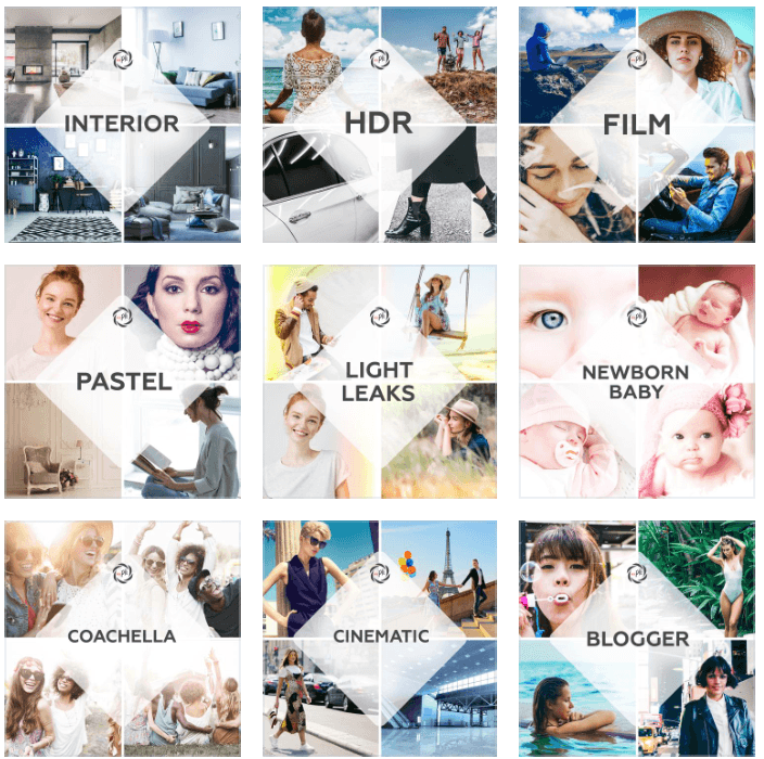 LIGHTROOM MOBILE PRESETS - 1080+ products
