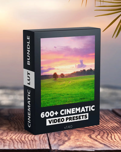 600+ CINEMATIC LUTS COLLECTIONS - VIDEO PRO PRESETS
