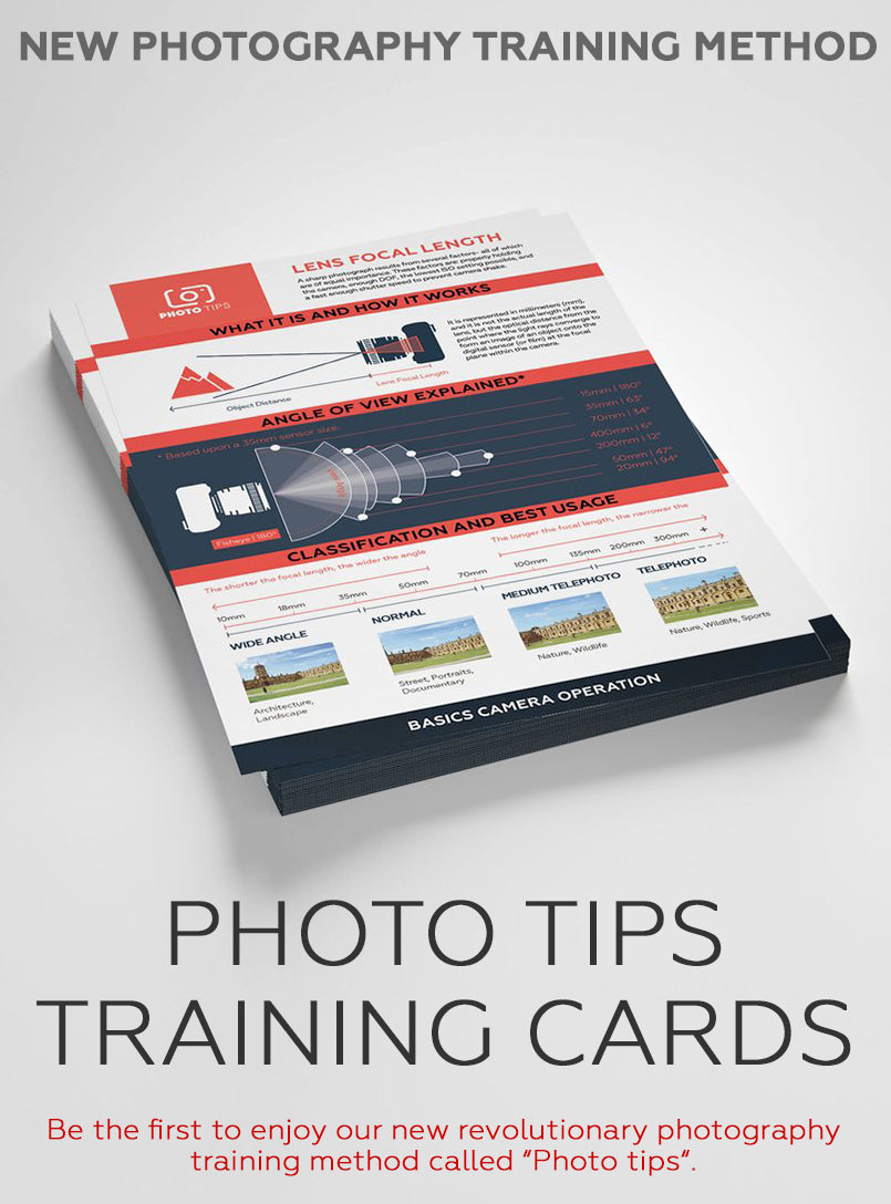 Training cards for PHOTOGRAPHERS