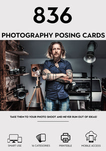 836-Photography Posing Cards