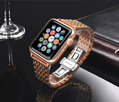 Stainless Steel Rose Apple Watch iWatch Band