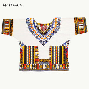 New Fashion Design Traditional African Dashiki For Kids.