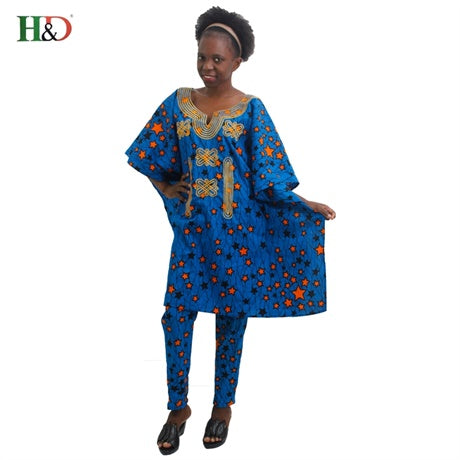 African Cotton clothing dashiki  one piece.