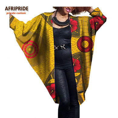 2017 fashion African women bat coat.
