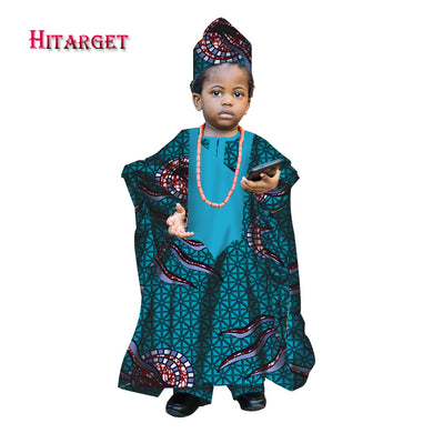 African Spring Boy Robe Kids Dashiki.