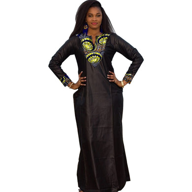 African Women Dress Custom Made Dashiki.