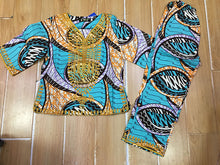African GIRLS dress.