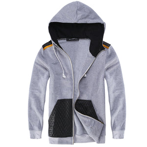 Men's Sweatshirts Hombre Zipper Hoody  Slim Fit